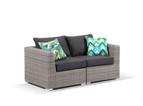 Maldives 5pc outdoor modular sofa setting