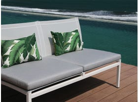 Pacific Armless 2pc Outdoor Lounge Setting