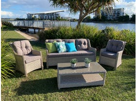 Kent 4pc  Outdoor  Lounge Setting