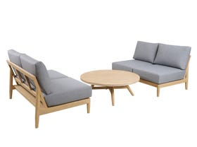 Liberty 3pc Outdoor Lounge Setting