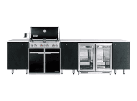 SustainaPod Neptune Weber Summit E-460 Outdoor Kitchen