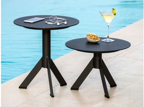 Reef  Round Side Tables  2pc Set