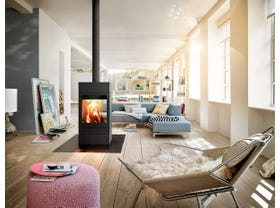 Skantherm Elements 600 Tunnel Slow Combustion Wood Burning Fireplace