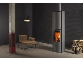 Stuv 30 High Rotating Wood Burning Fireplace