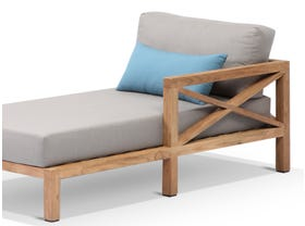 Hampton Teak Outdoor Chaise