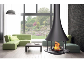 Bordelet Zelia 908 Suspended Wood Burning Fireplace