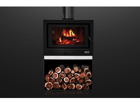 Jetmaster Kemlan Cube Freestanding Wood Burning Fireplace
