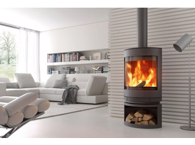 Skantherm Emotion Slow Combustion Wood Burning Fireplace