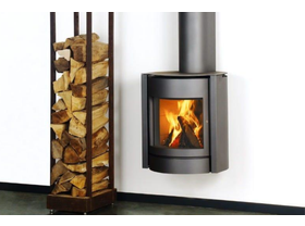 Stuv 30 Up Slow Combustion Wood Burning Fireplace