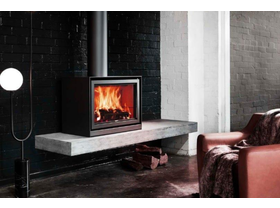 Stuv 16 Slow Combustion Wood Burning Fireplace