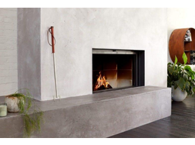 Stuv 21 Single Sided Built-In Wood Burning Fireplace