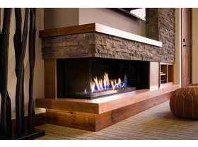 Ortal Corner Gas Fireplacer- Multiple Sizes Available
