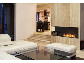 Ecosmart Ethanol Left Corner Flex Insert Fireplace Series- Multiple Sizes Available